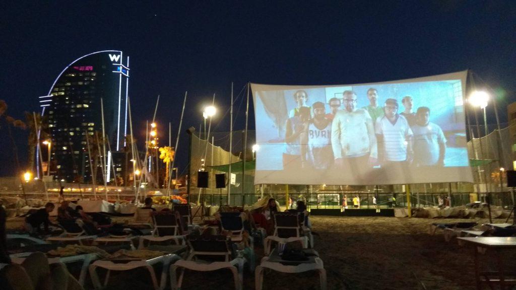 Cinema a la fresca Barcelona