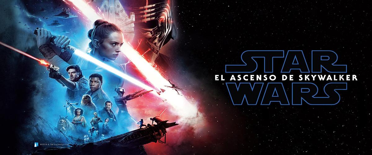 Banner Star wars el acenso de skywalker
