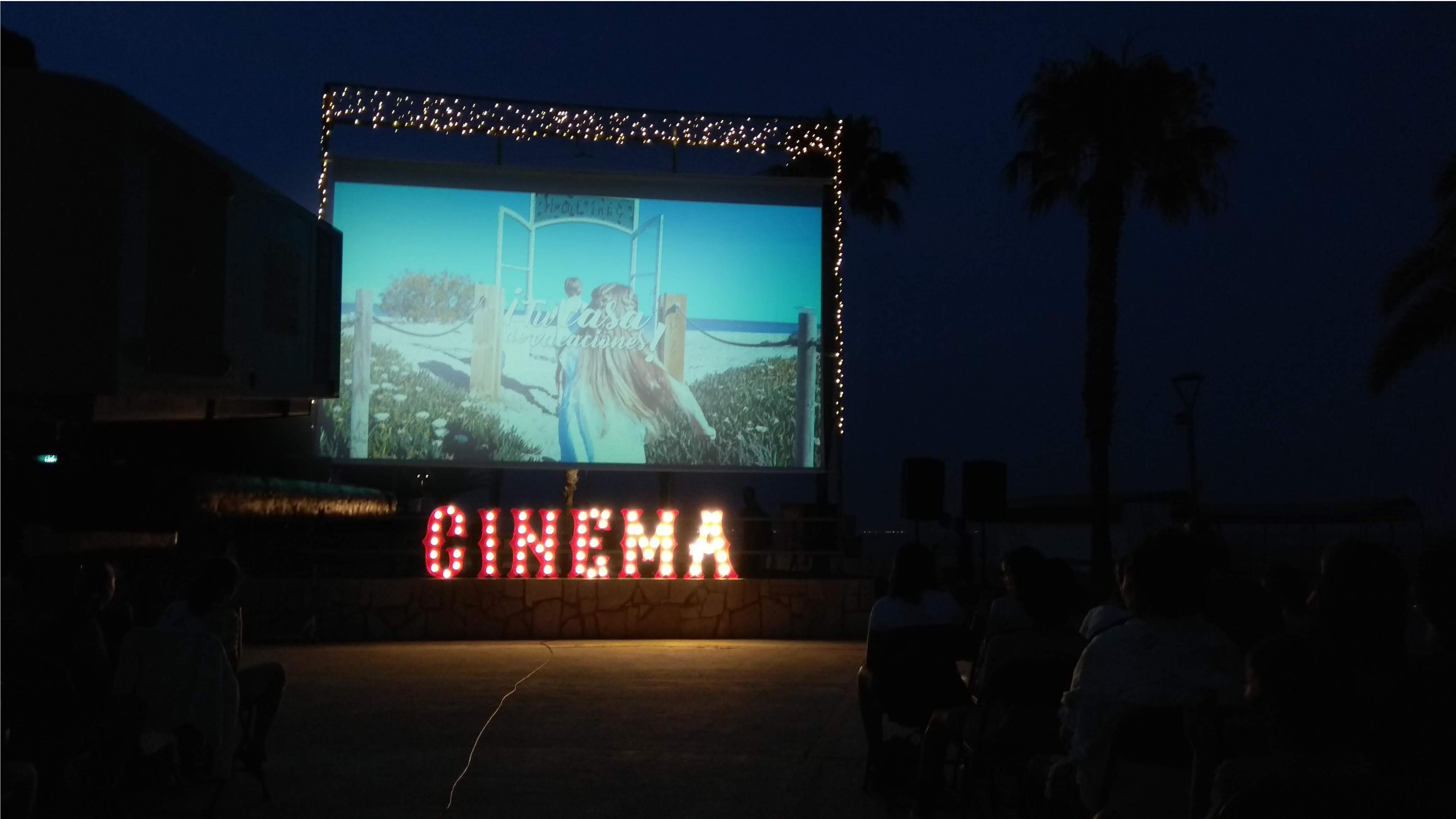 Cinema a la fresca miami platja
